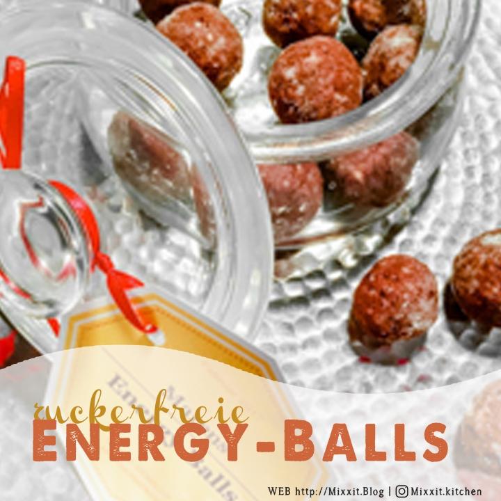 Engergy Balls – kleiner Snack fürZwischendurch