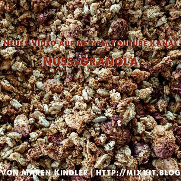 Nussiges Granola – ohneZucker